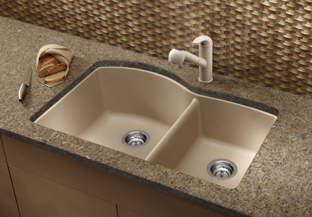Blanco BLANCODIAMOND 1-3/4 Bowl 441469 modern-kitchen-faucets