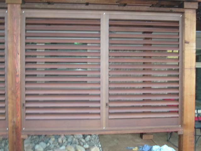 Weatherwell Exterior Shutters Rustic Dallas By Budget Blinds Greater Mi