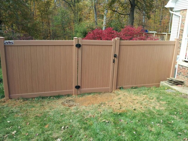 Residential Fencing modern-home-fencing-and-gates