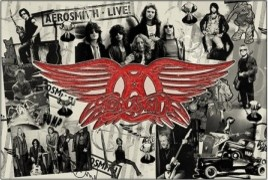 Aerosmith Through The Years Poster eclectic-artwork