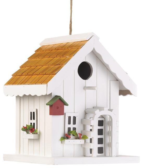 Happy Home Birdhouse eclectic-birdhouses