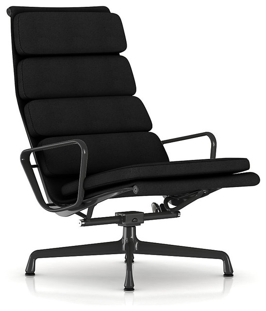 Herman Miller Eames Soft Pad Lounge Chair - Fabric modern-armchairs-and-accent-chairs