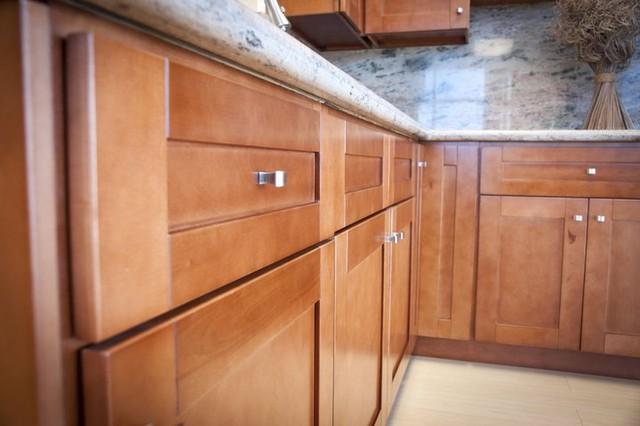 Cinnamon Shaker Kitchen Cabinets Home Design