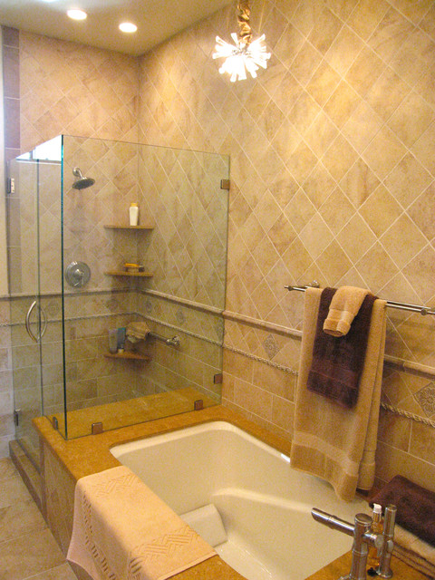 Pasadena CA Condo Remodel - transitional - bathroom - los angeles