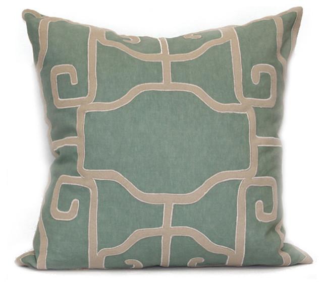 Lantern Pillow transitional-decorative-pillows