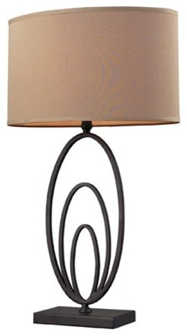 Dimond Haven Multiple Oval Design Table Lamp D2211 contemporary-table-lamps