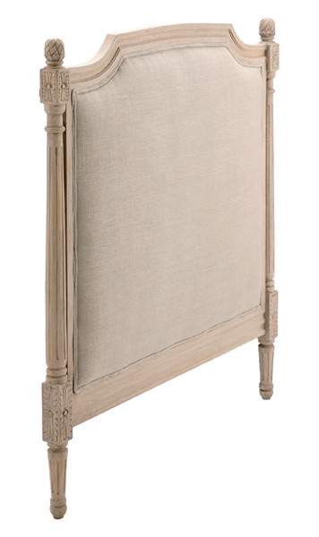 Candelabra Home Wood Upholstered Queen Headboard Natural traditional-beds