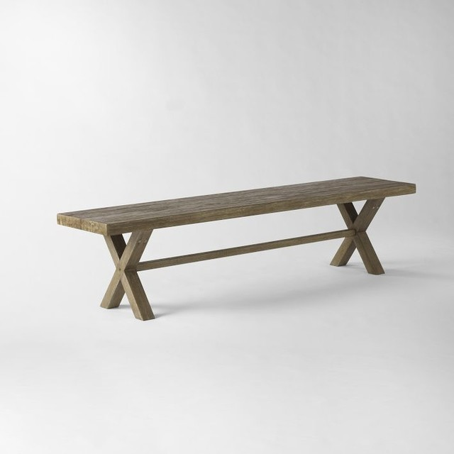 Jardine Bench Modern Outdoor Benches By West Elm