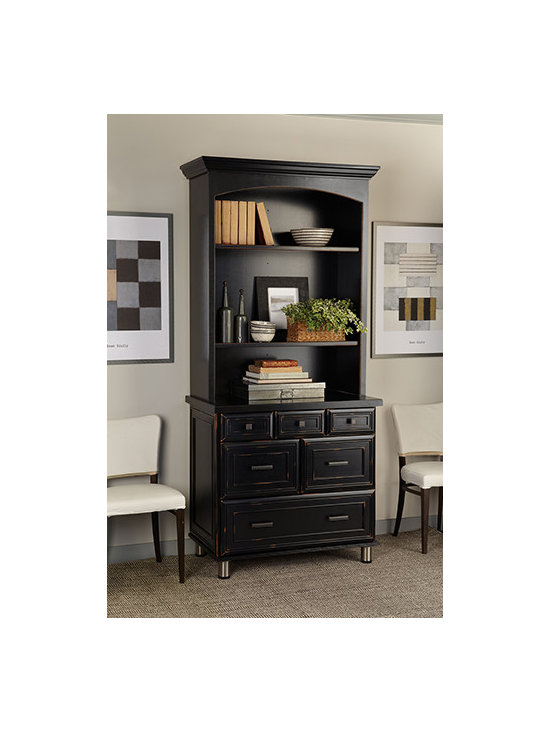 Decorative Bookcase - Display favorite items and add storage for silver, linens, and more.