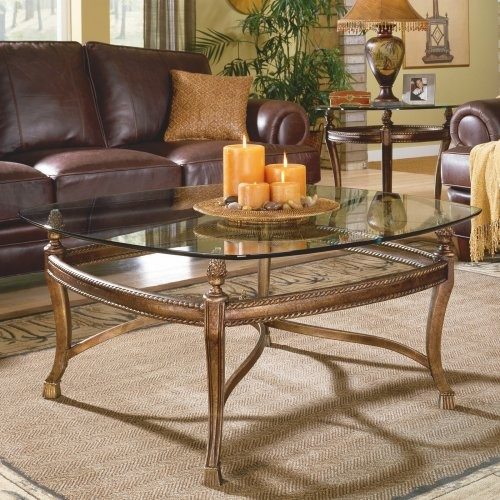 Hammary Suffolk Bay 2 Piece Square Coffee Table Set Traditional Coffee Tables By Hayneedle