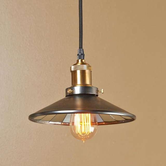 Mirror Lined Cone Shade Pendant Light Http Www