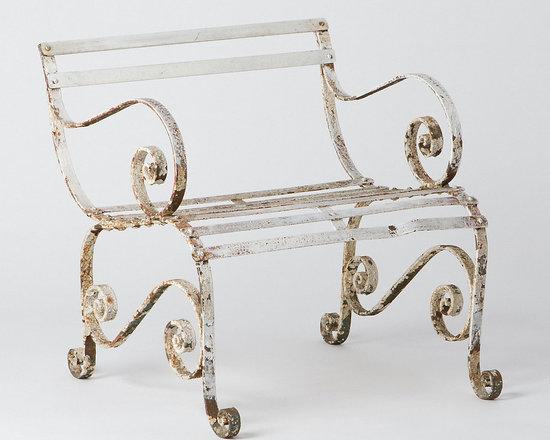 Weathered Regency Chair -