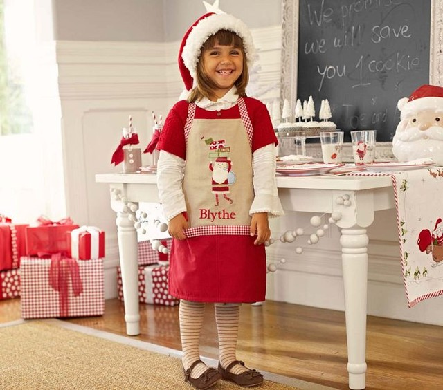 Santa Apron contemporary aprons