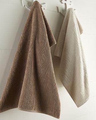 Natori 'Faux Bois' Towels contemporary-towels