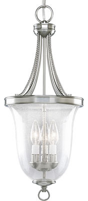 Silver Lantern Pendant | Progress Lighting contemporary-pendant-lighting