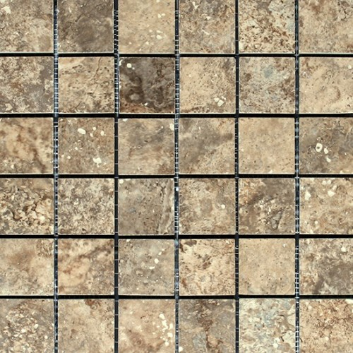 Imperial Beige Mosaic 2 x 2 traditional-floor-tiles