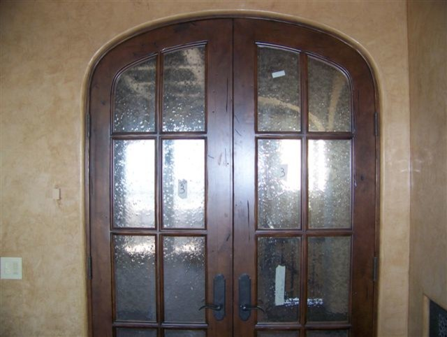 Custom Homes Mediterranean Interior Doors Phoenix