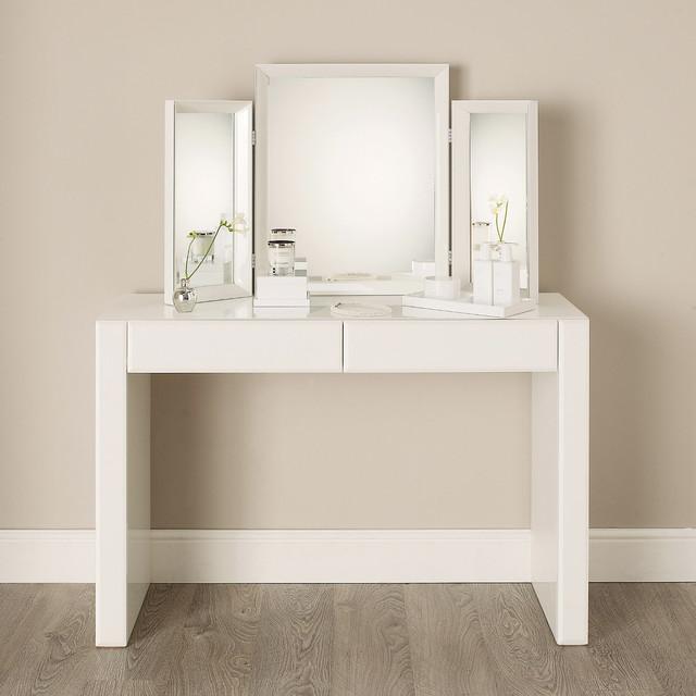 White Gloss Dressing Table Ikea