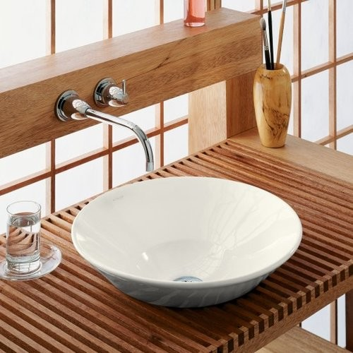 Kohler K 2200 Vitreous China Lavatory Sink Contemporary Bathroom Sinks
