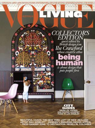 Vogue Living Australia contemporary-books