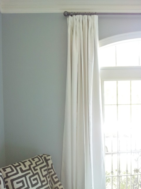 Off-white linen curtain panels - Curtains - other metro - by Nashville ...