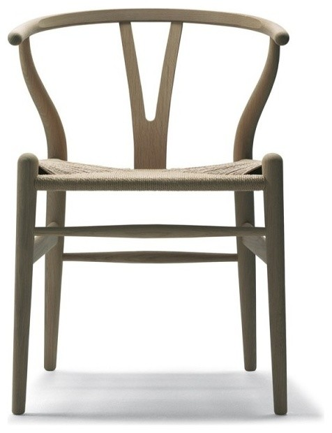 CH24 Wishbone Chair Oak Available at SUITENY.COM midcentury-dining-chairs