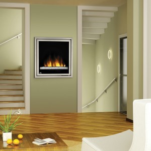 Small space electric vent free fireplace modern indoor fireplaces other metro by dnk gas - Gas fireplaces for small spaces property ...