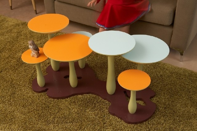 Thomas Wold Mushroom Coffee Table eclectic coffee tables