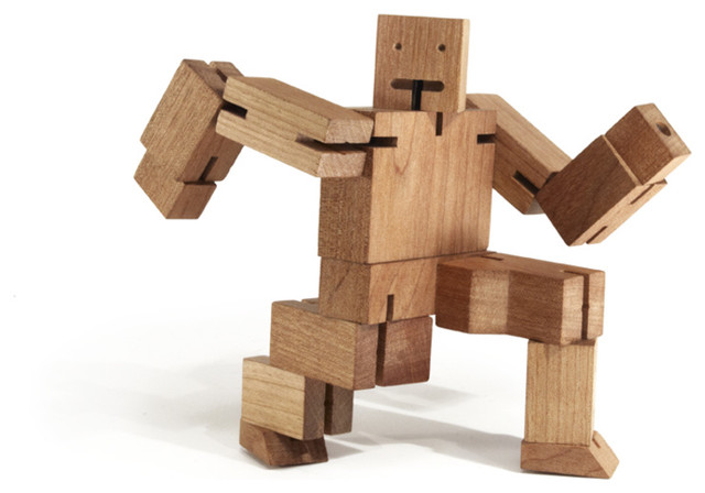 David Weeks Cubebot Small modern kids toys