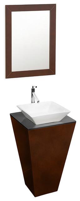Wyndham Collection Esprit Espresso  Single Bathroom Vanity Set contemporary-bathroom-vanities-and-sink-consoles