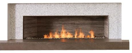 "Spark Modern Fires Linear Burner System, 72"", W/O Electric Ignition modern-fireplaces"