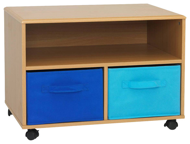 4D Concepts Boy's TV Cart in Beech modern-entertainment-centers-and-tv-stands