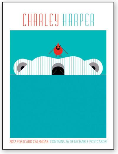 Charley Harper 2012 Postcard Calendar modern-home-decor