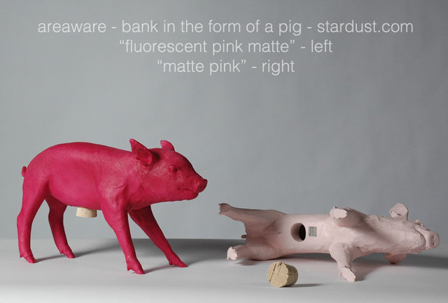 Areaware pig bank bank in the form of a pig for Pig decorations for home