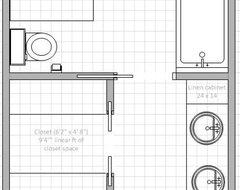 Bathroom layout floor plan 9 x 11 master bathroom designs and floor