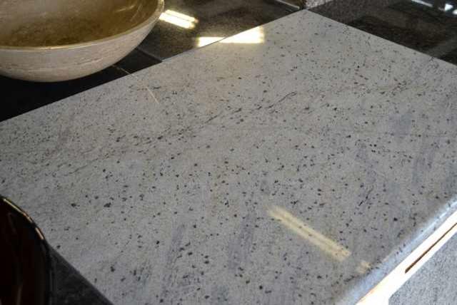 Lazy Granite Kashmire White Countertop traditional-kitchen-countertops