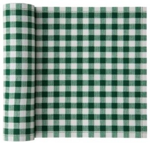 Cotton Vichy Napkin, Green Vichy farmhouse-napkins