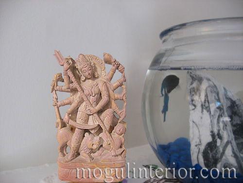 Stone Durga Statue asian-home-decor