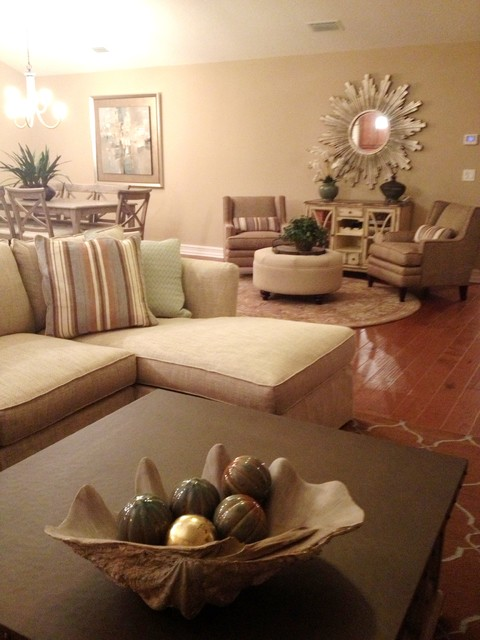 Ponte vedra beach home beach style living room for Interior decorators ponte vedra beach