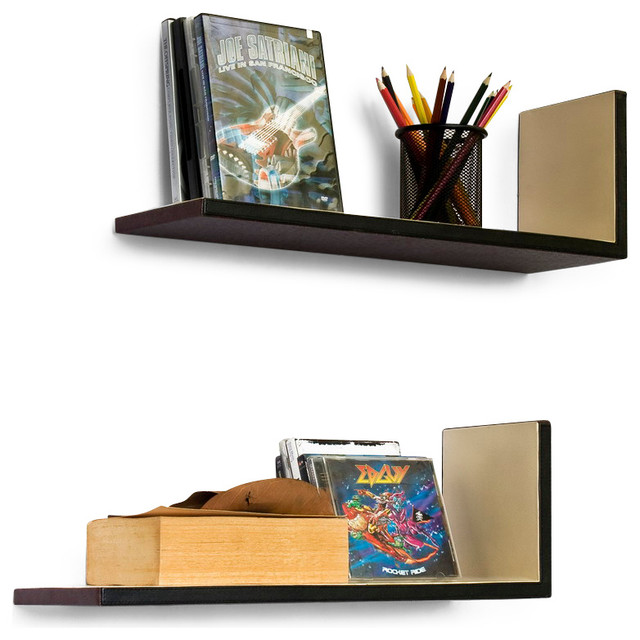 ... Set of 2 - Midcentury - Display And Wall Shelves - by Blancho Bedding
