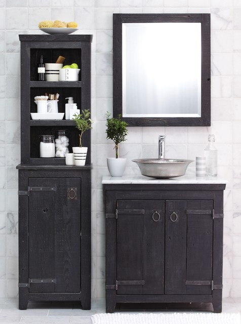 Americana Vanity, Cabinet, and Hutch by Native Trails traditional-bathroom-vanities-and-sink-consoles
