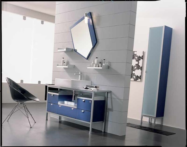 european cabinets modern-bathroom