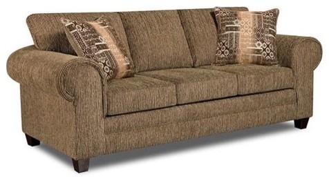 American Furniture Sofa - Dickens Hickory modern-sofas