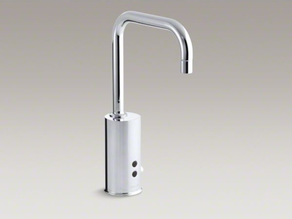 Kohler Commercial Kitchen Faucets : ... TM) hybrid energy cell-powered commercial contemporary-kitchen-faucets