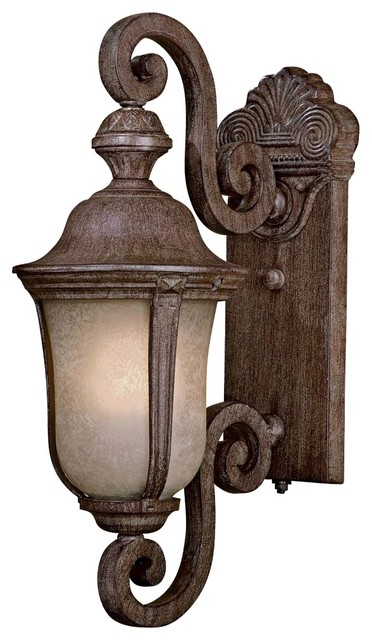 """Traditional Ardmore 19 3/4"""" High Vintage Rust Outdoor Light traditional-outdoor-lighting"""