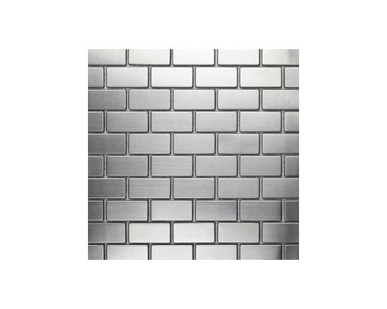 1X2 Metal Mosaic - 1X2 Metal Mosaic looks great and will compliment any kitchen with Stainless Steel Appliances. It is truly stainless so cleaning is super easy. Your friends will love and they will want to know where to.....BUY & SAVE!!!!!!!!