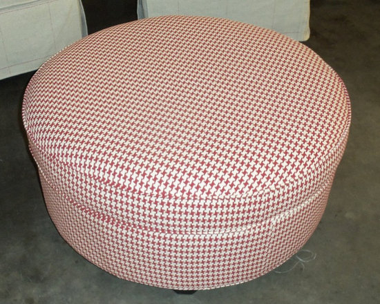 Customer Custom Orders - Rowe Eero Storage Ottoman at Barnett Furniture in Trussville / Birmingham, AL.  You Choose the Fabric.