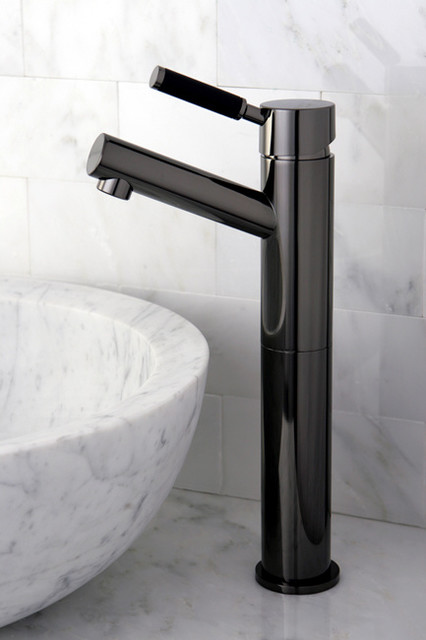 Black Faucets For Bathroom : Black Nickel Sink Bathroom Faucet - Contemporary - Bathroom Faucets ...