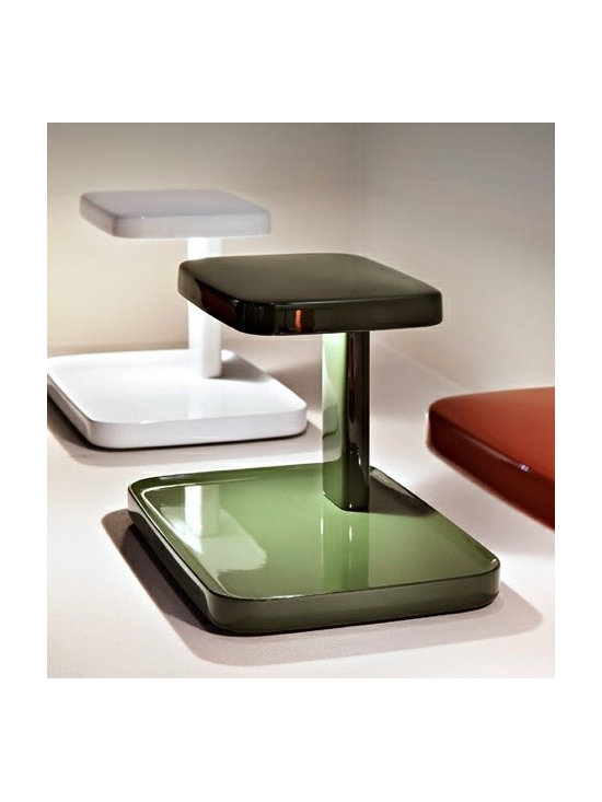 Piani Table Lamp By Flos Lighting - The Piani table lamp by Flos provides direct lighting on the desk area.