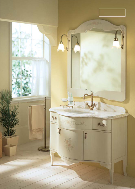 GIUBILEO collection traditional bathroom vanities and sink consoles